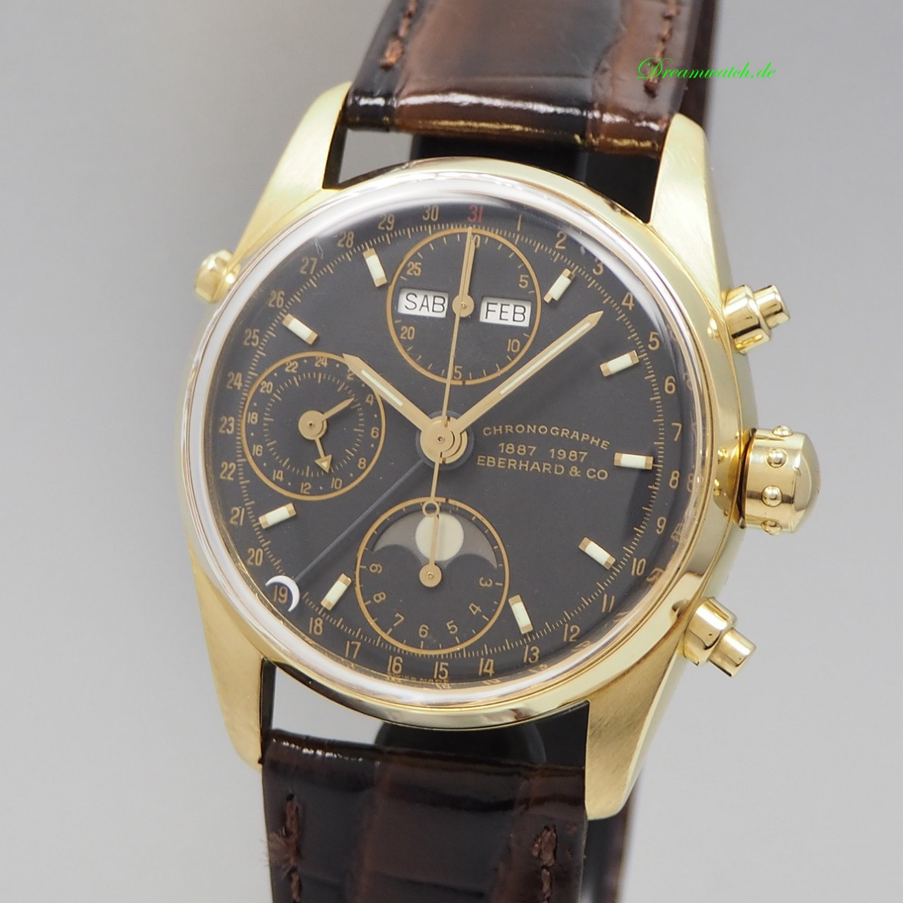 Eberhard & Co Navy Master Chronograph -Gold 18k/ 750