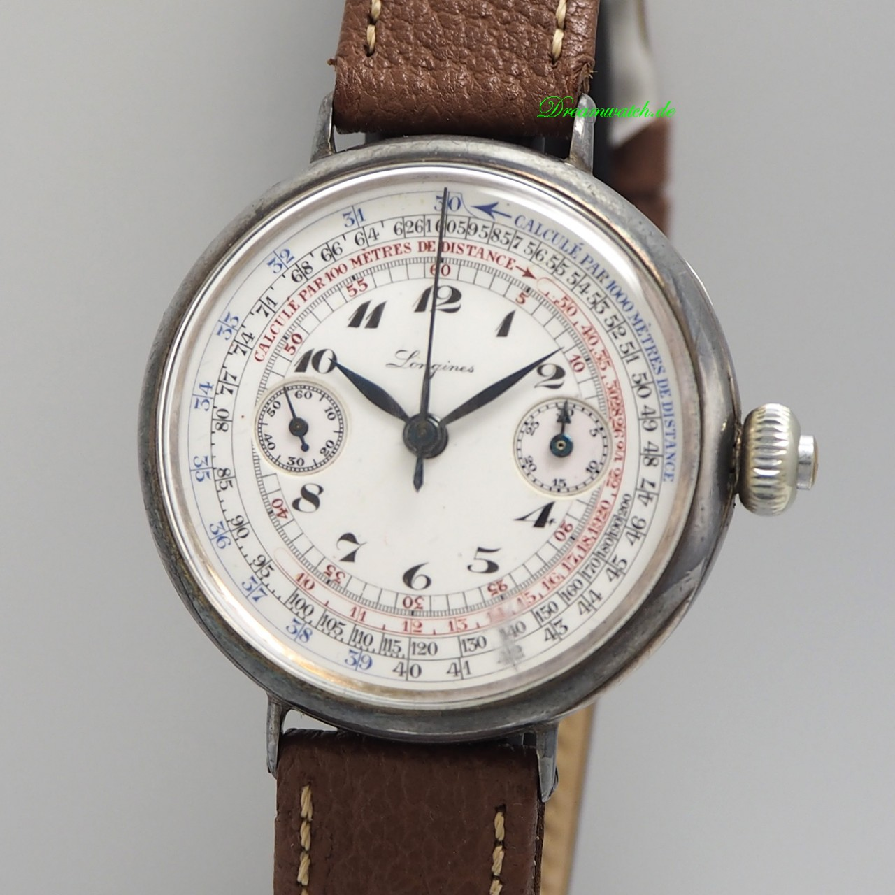 "Longines Monopusher Chronograph Vintage RARE ""Grands Prix "" Cal.13.33"