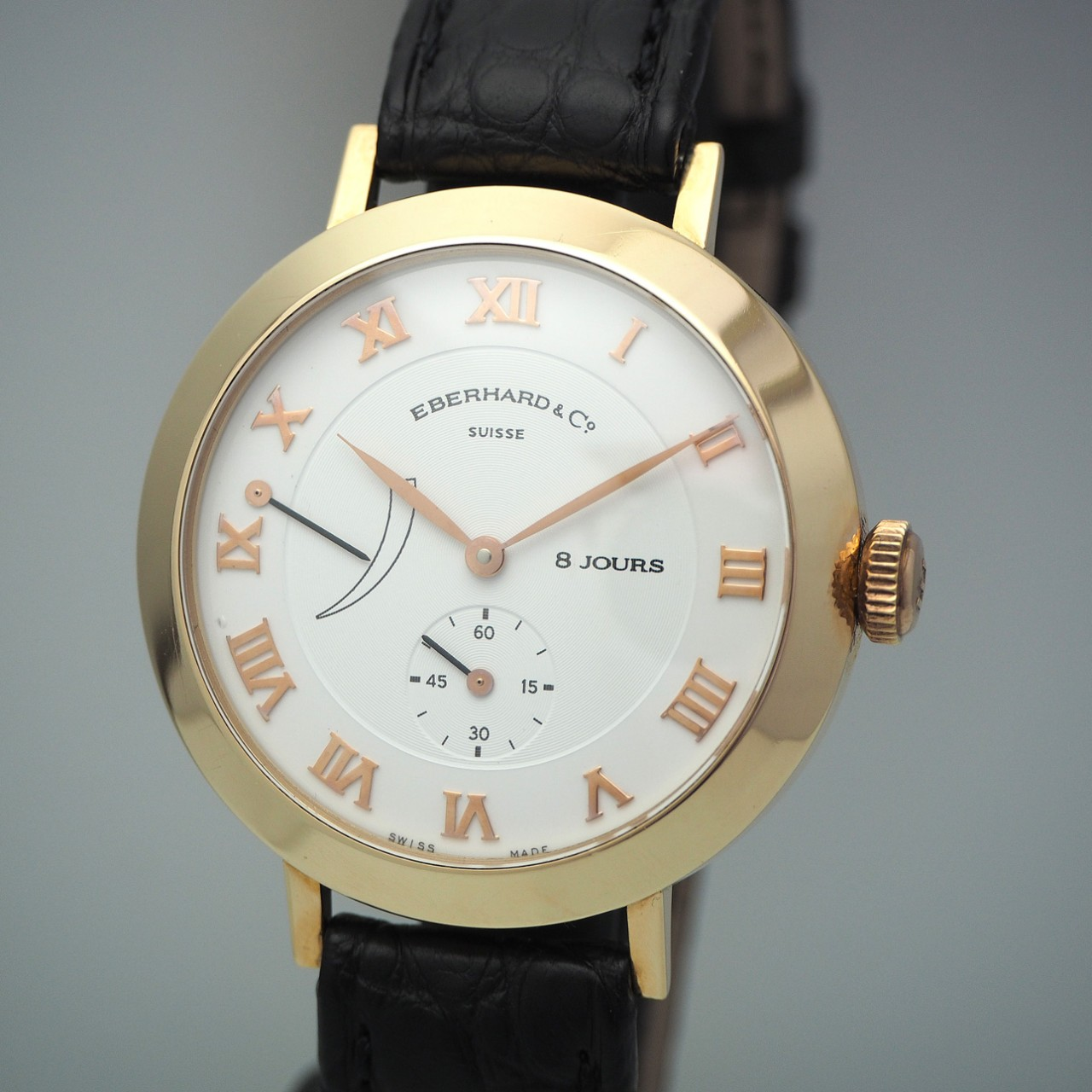Eberhard & Co Postillon 8 Jours/ 8 Tage, Ref.: 20022 -Gold 18k/750