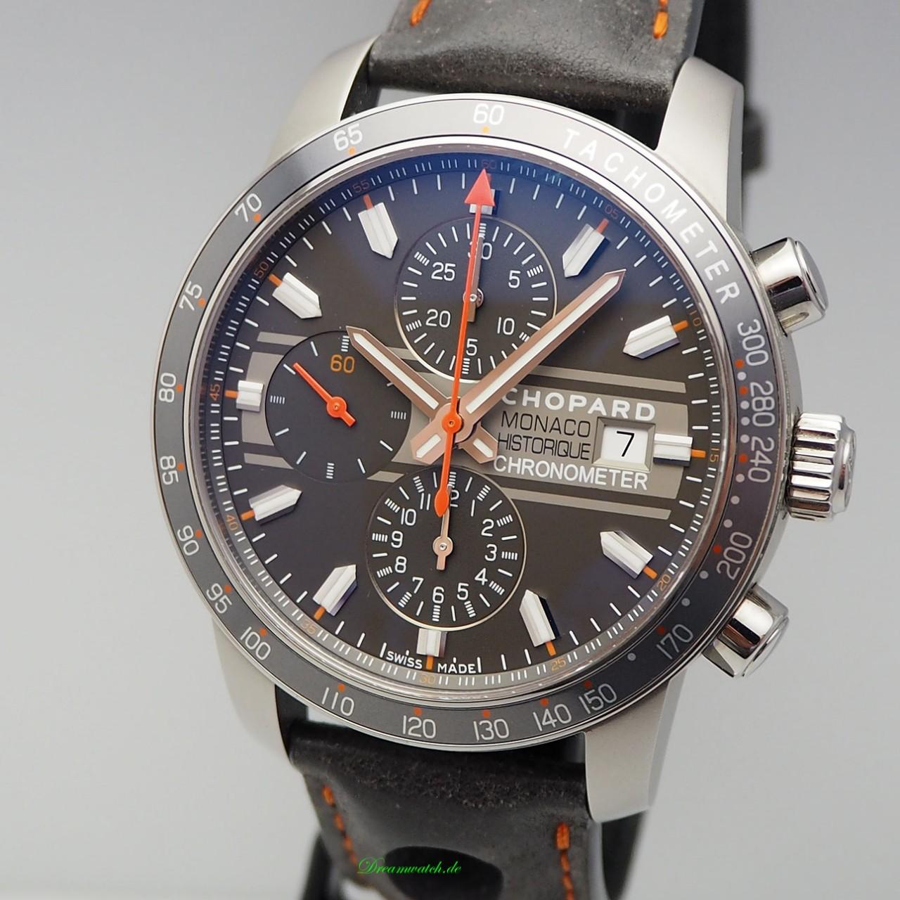 Chopard Grand Prix Monaco Historique Chronograph 168992-3032 -Box+Papiere ungetragen