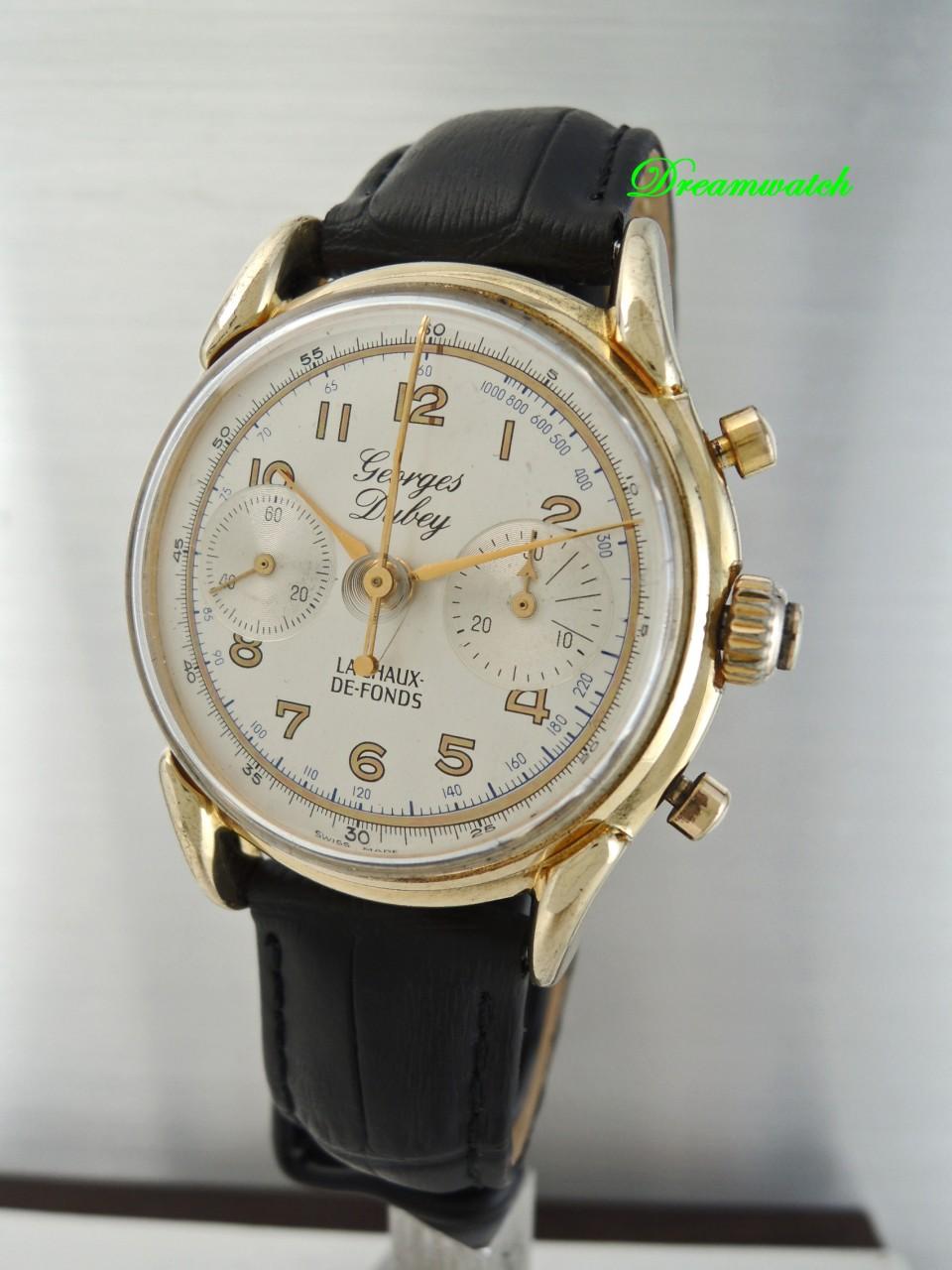 Vintage Georges Dubey Rattrapante Chronograph