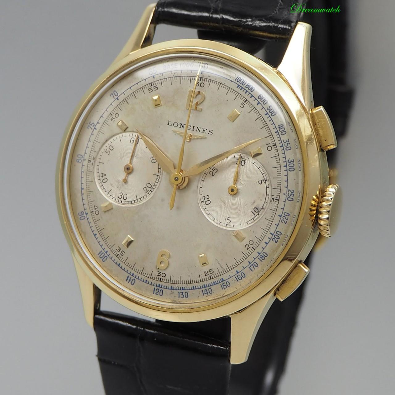 Longines Vintage Chronograph 18k/750 Gold - CH30