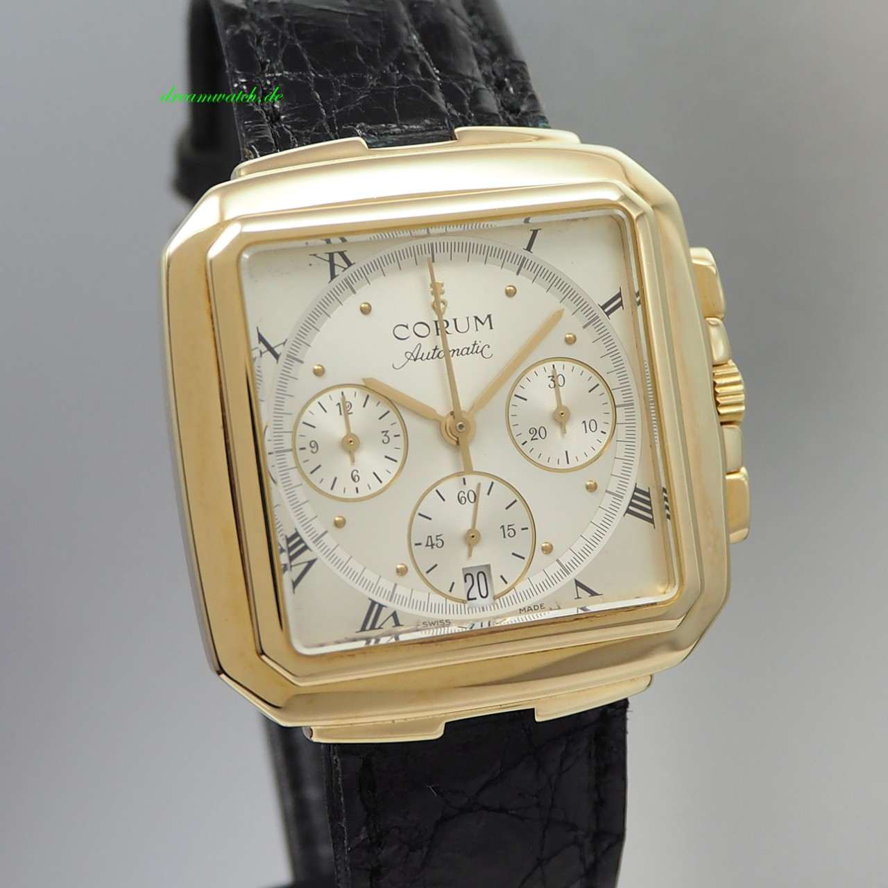 Corum Square Chronograph Gold 18k/ 750 -Limited Edition