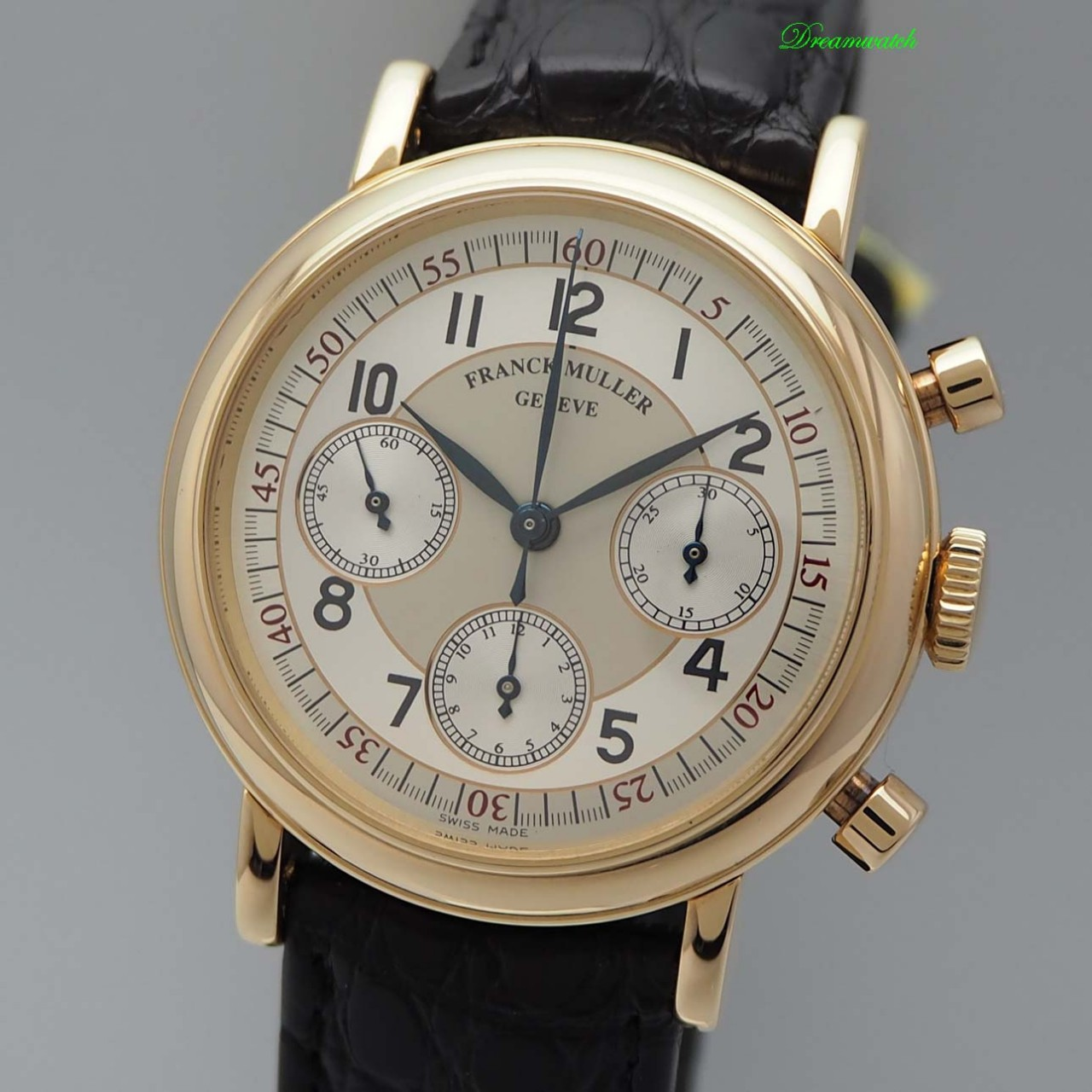 Franck Muller Chronographe Valjoux 726 Ref.: 7200, Gold 18k/750 Handaufzug