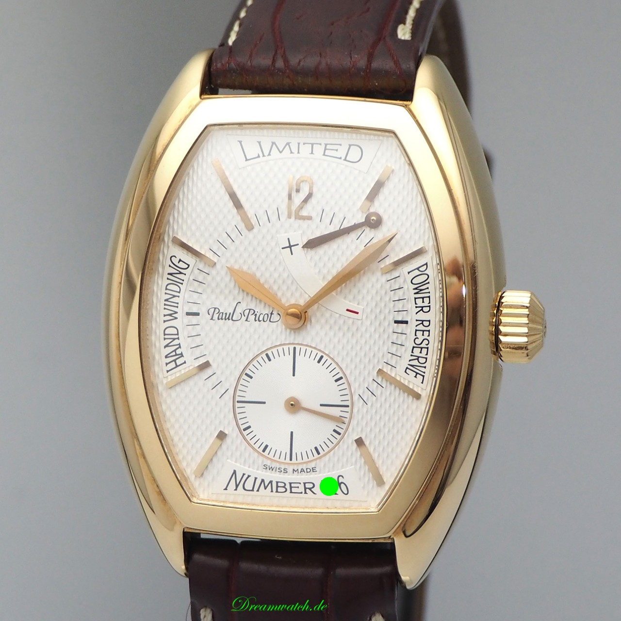 Paul Picot Firshire 1937 Limited Edition -Gold 18k/750 NP: 11000 Euro