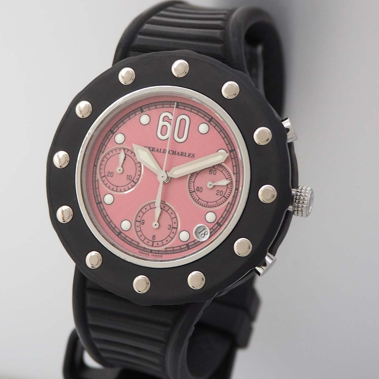 Gerald Charles/ Genta GC9 Seaside Chronograph Stahl/Kautschuk Automatik
