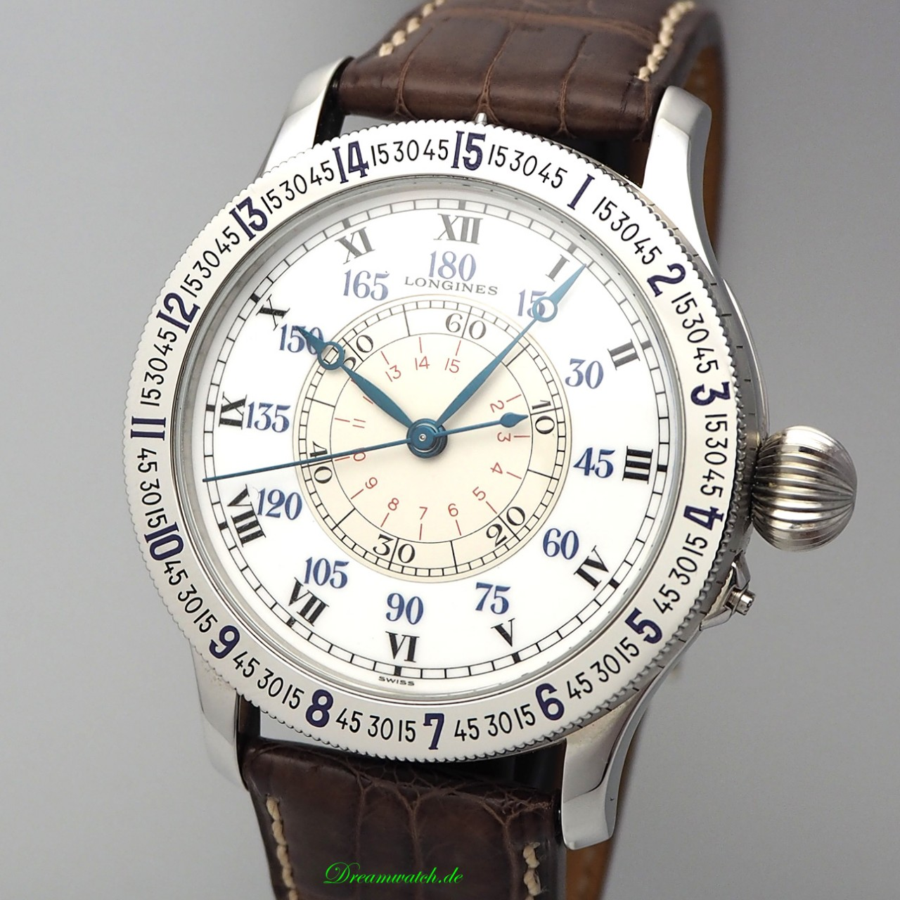 Longines Lindbergh Limited Edtion 75th Anniversary L2.638.4 B&P unworn