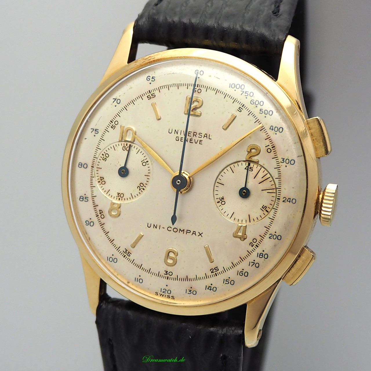 Universal Geneve Vintage Chronograph 12445 Cal.285 Gold 18k