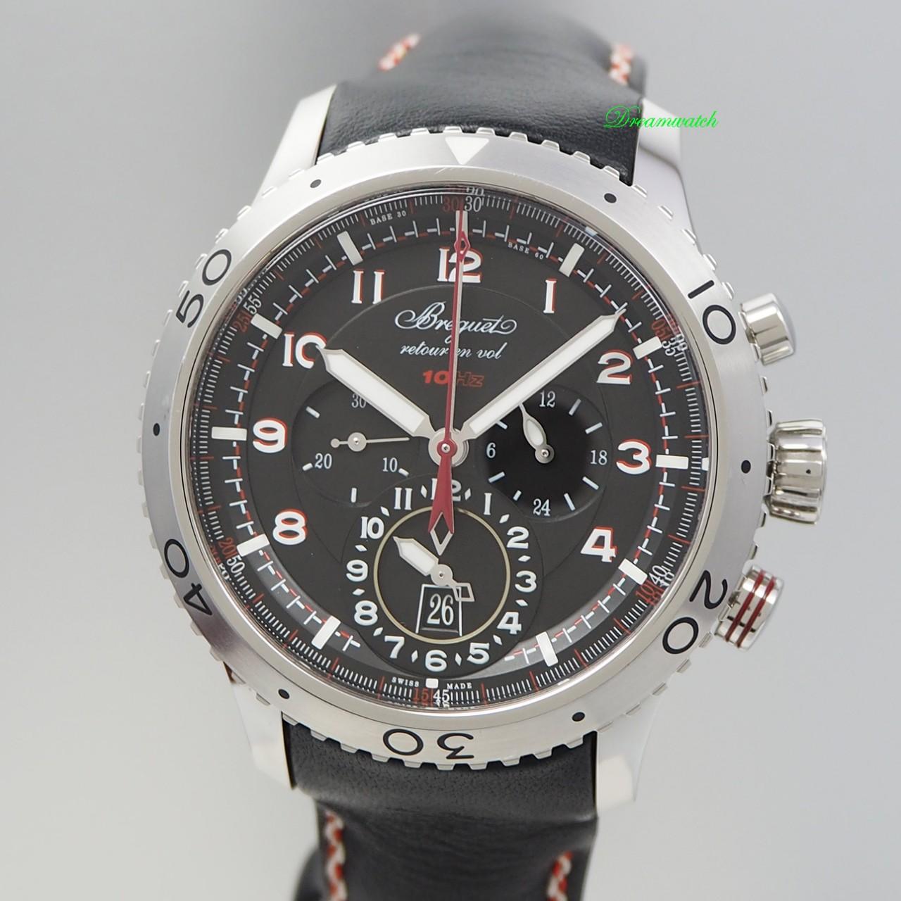 Breguet Type XXII Chronograph Flyback 3880,10HZ / 2016, F, Full Set - deutsche Uhr