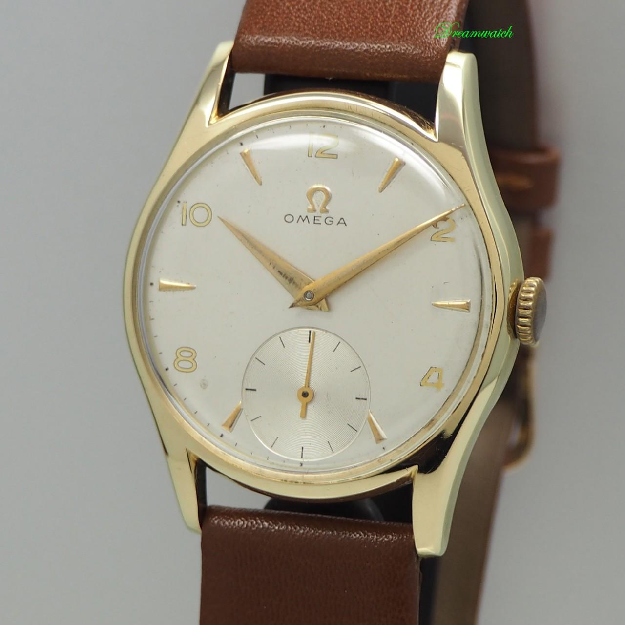 Omega Vintage Handaufzug Cal. 265 -Gold 14k/585