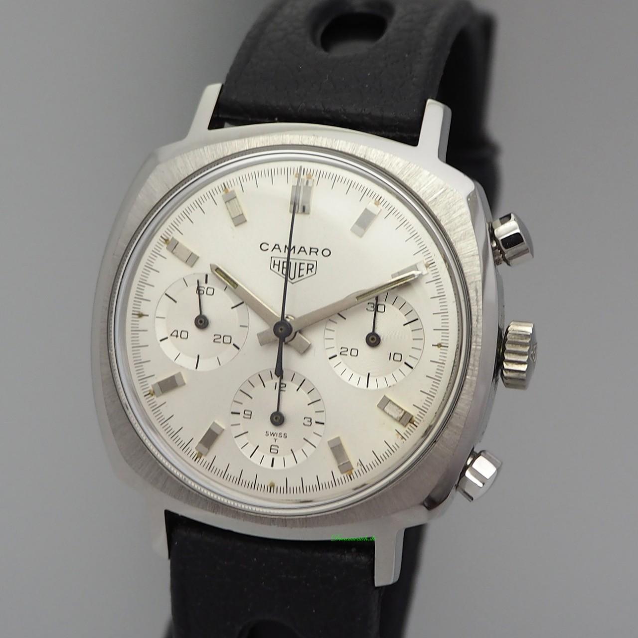 Heuer Camaro Vintage Chronograph 7220 ChronographValjoux 72