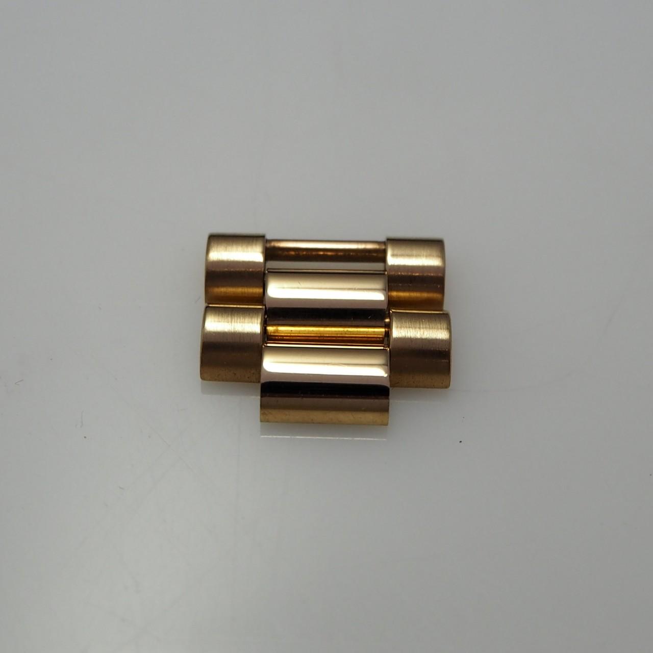 Rolex Präsident Bandelemente/ Bandglieder (2X) Gold 18k/750 - 2 x 16mm