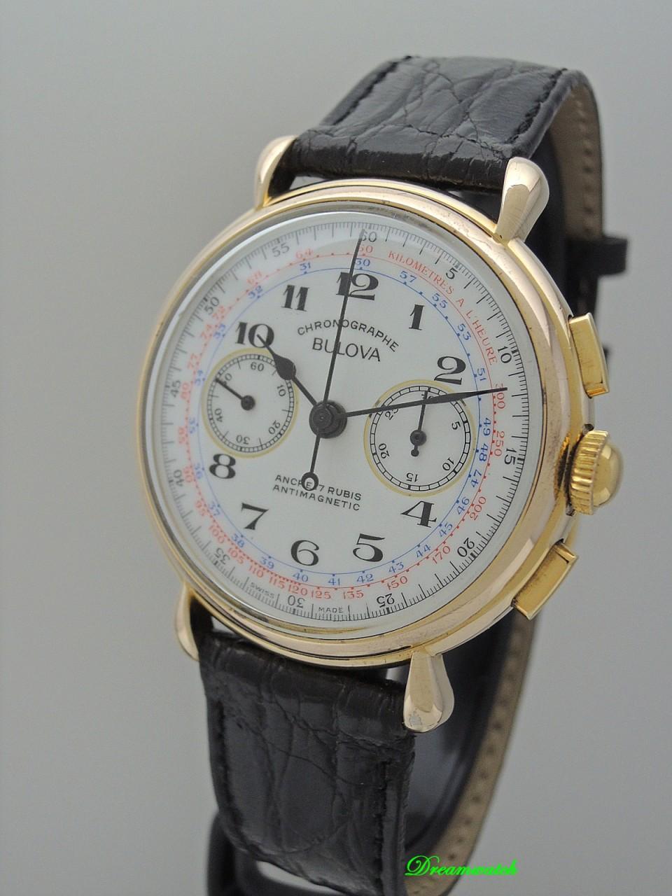 Bulova Chronograph Vintage Lemania 872