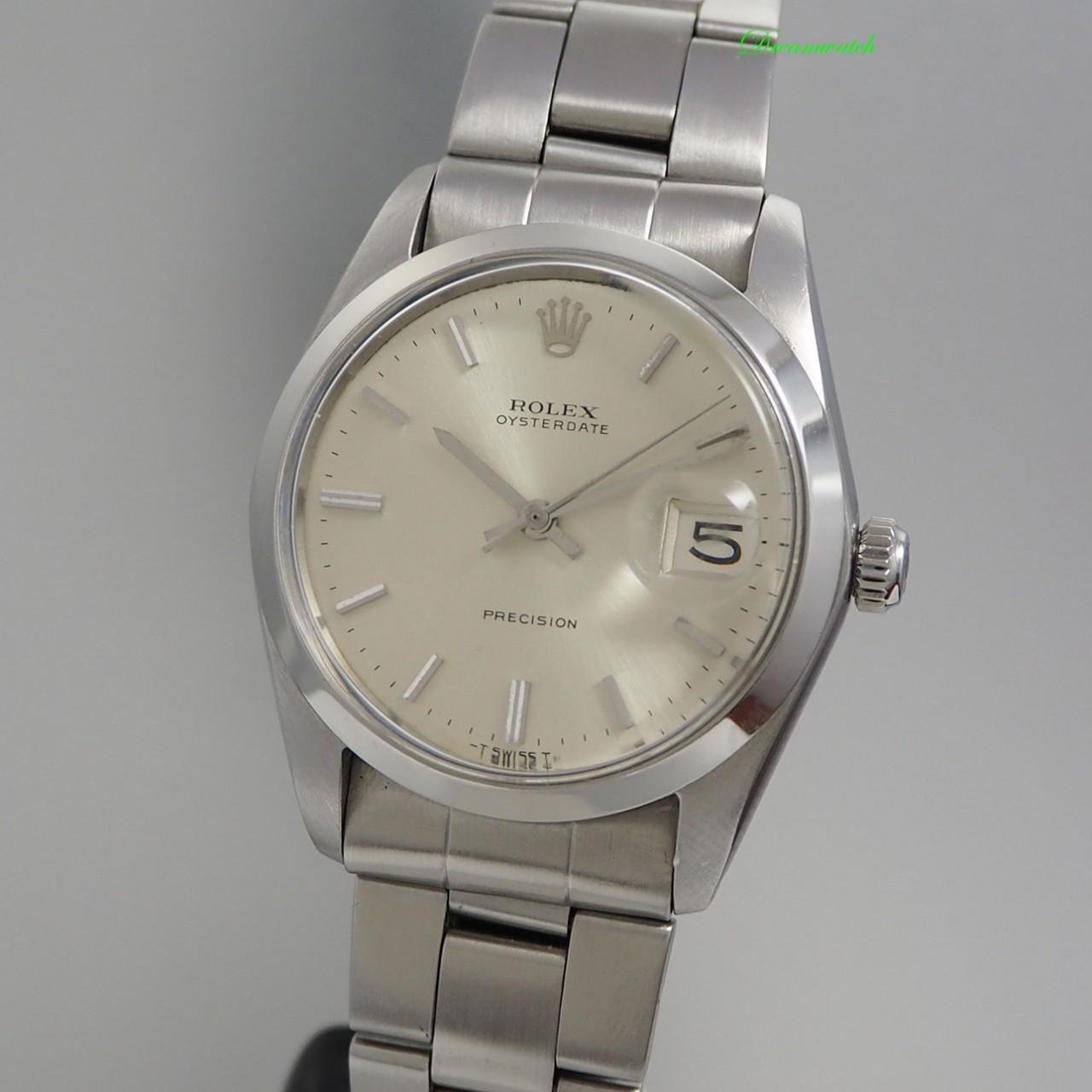 Rolex Oyster Date Precision 6694 -Stahl/Stahl Handaufzug