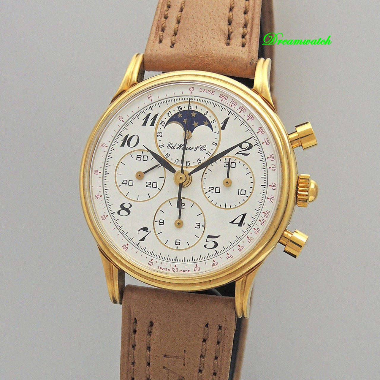 Ed Heuer 125 Chronograph Moonphase Cal.1883