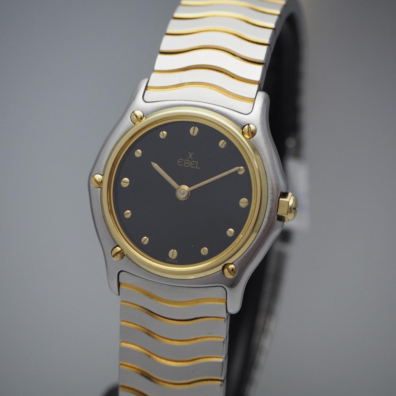 Ebel Lady Wave Classic, Stahl/ Gold 18k, Ebel Box