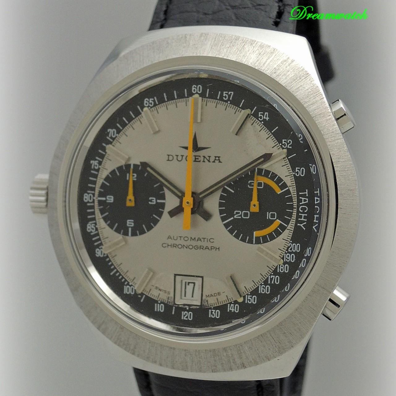 Dugena Vintage Chronograph Buren Cal. 12