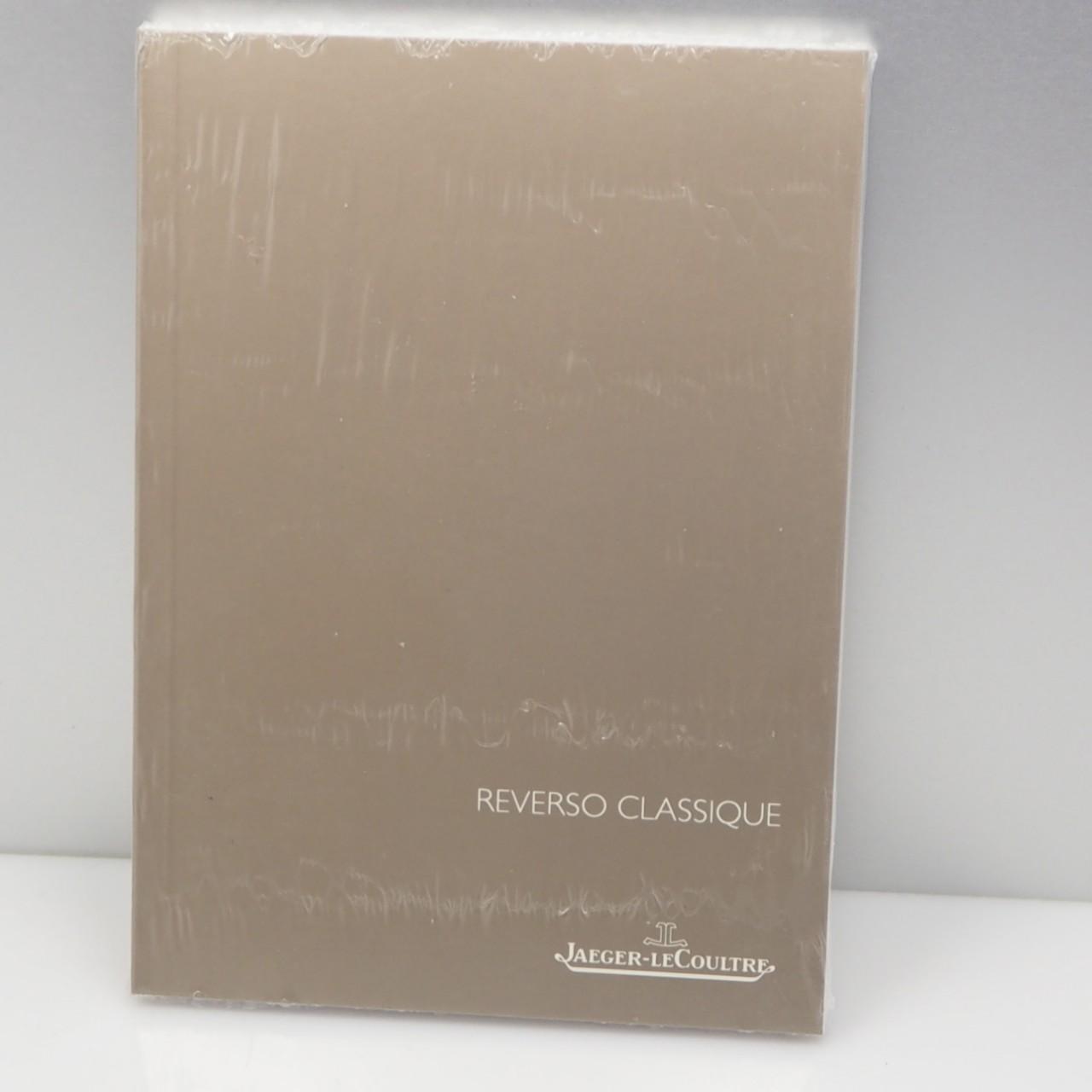 Jaeger LeCoultre Reverso Classique -Beschreibung / Instruction booklet 10,5 x 14,5mm