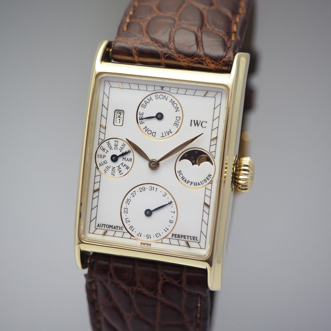 IWC Novecento Automatik/ Perpetual Calendar 3545, Gold 18k/750