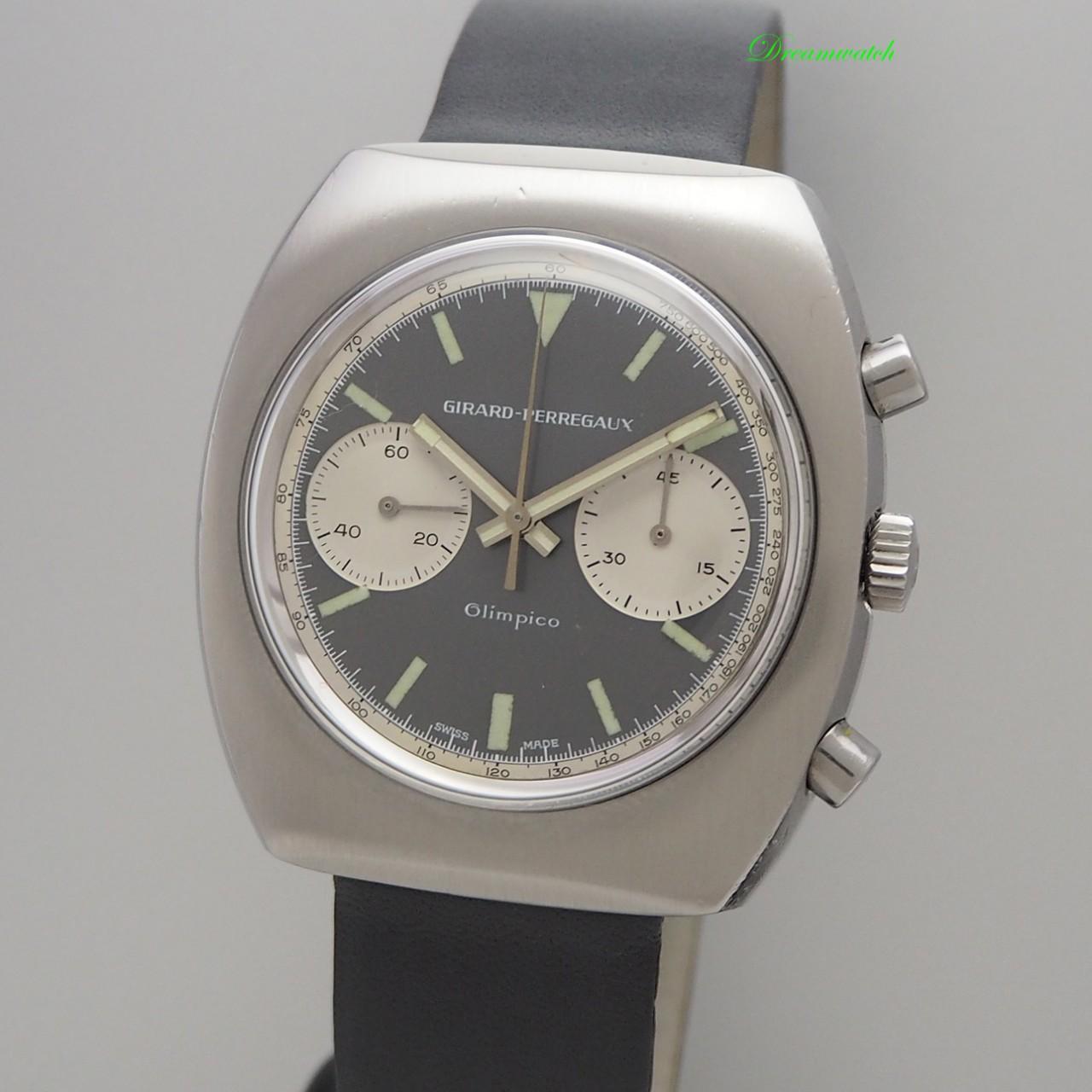Girard Perregaux Olimpico Chronograph Vintage -Valjoux 236