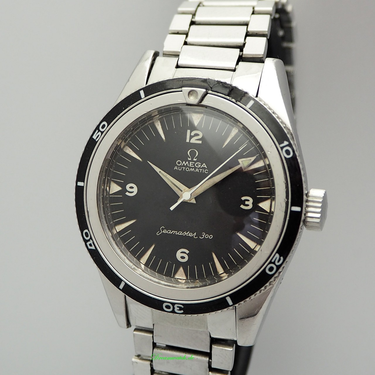 Omega Seamaster 300 Vintage 14755-61 Stahl/ Stahl +papers (Omega Extract)