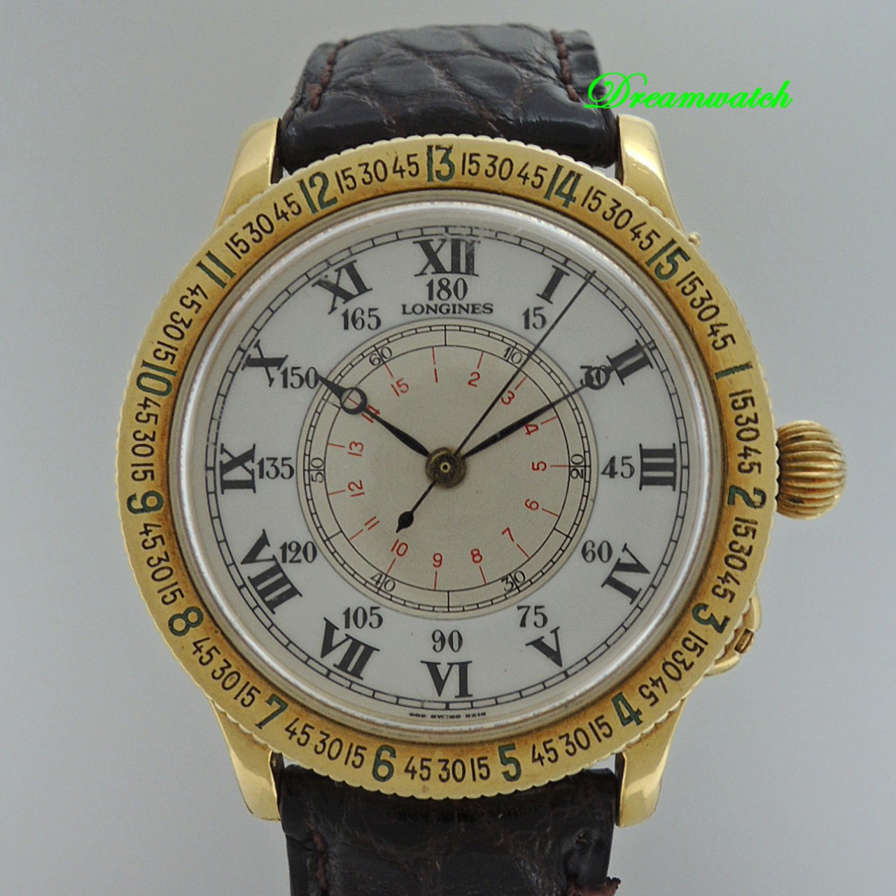 Longines Lindbergh Hour Angel Gold 18k/750