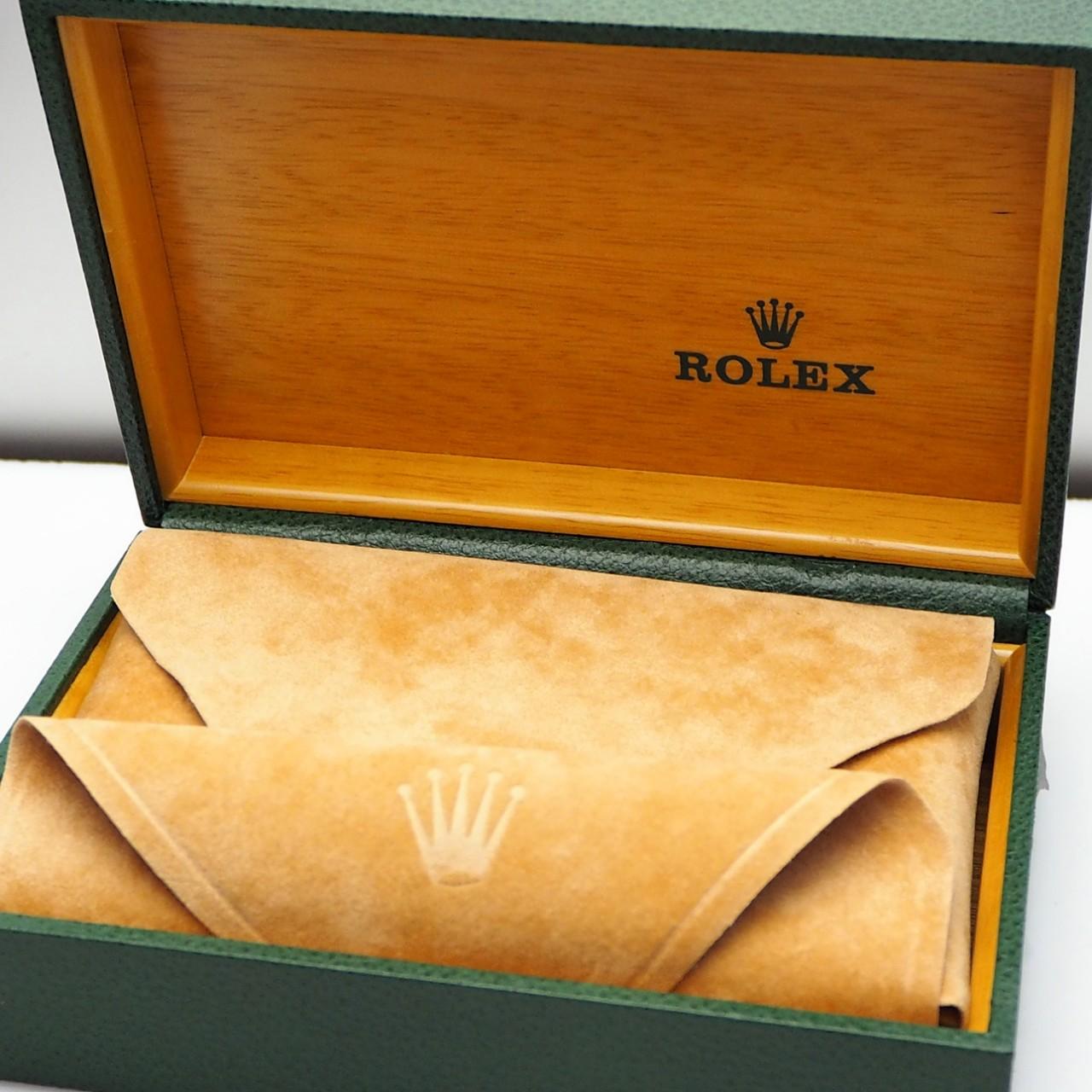 Rolex Oyster Perpetual Vintage Uhrenbox/ Box/ Holzbox