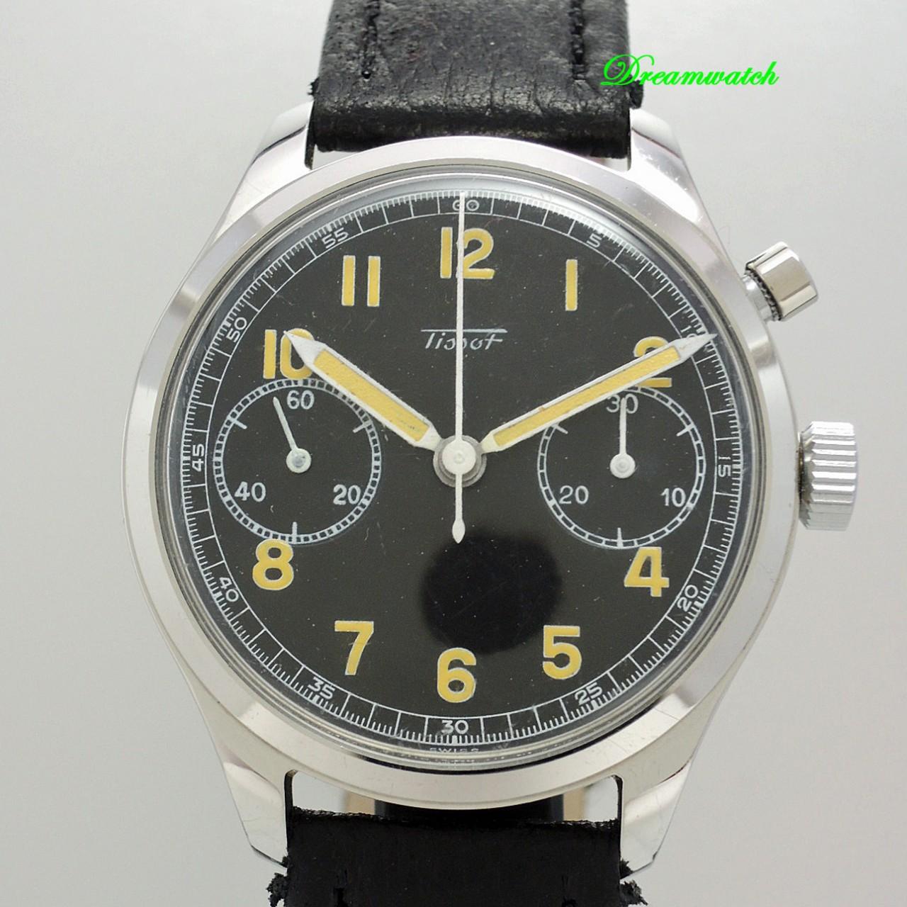 Tissot Monopusher Military Vintage Chronograph