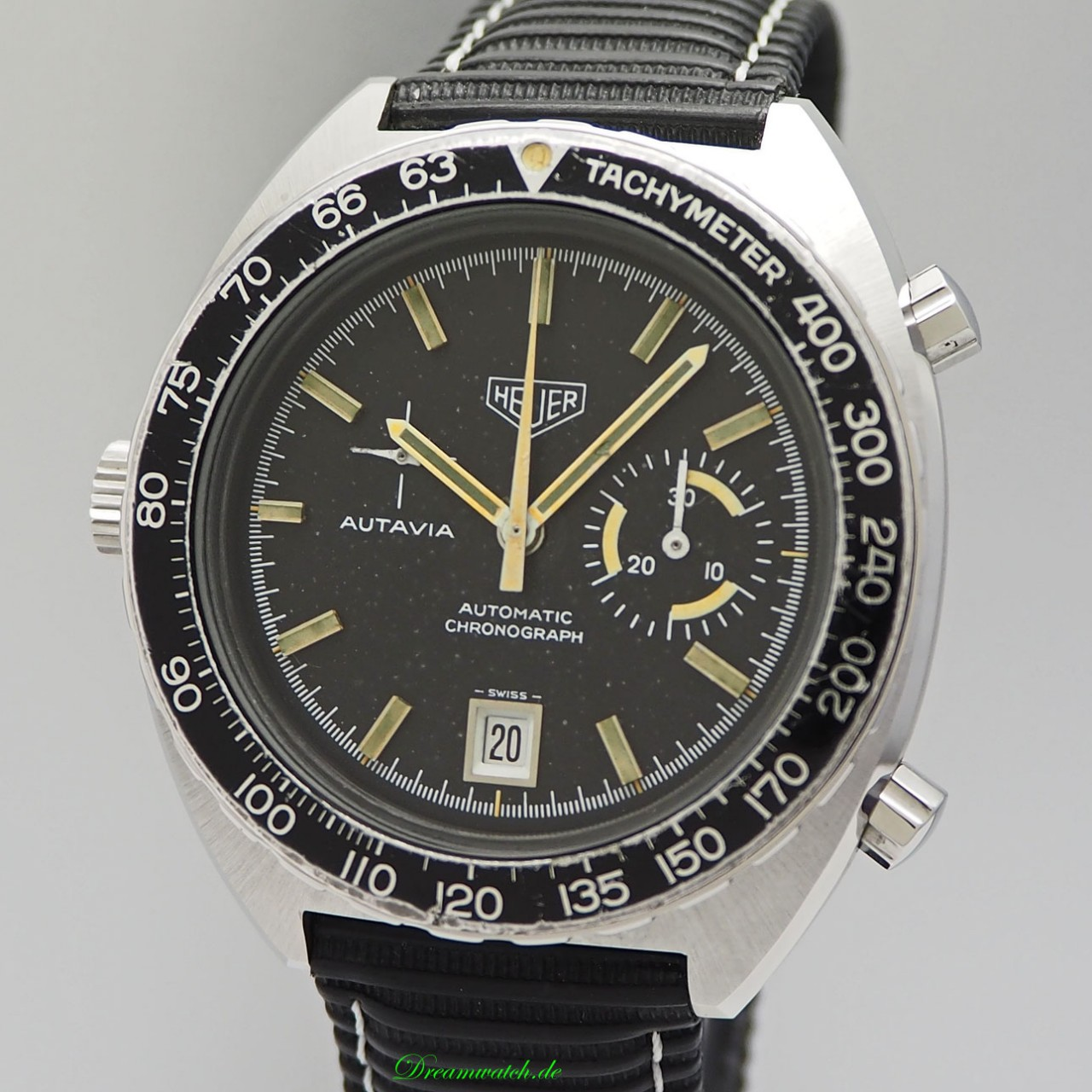 heuer autavia vintage 15630 chronograph ihr. Black Bedroom Furniture Sets. Home Design Ideas