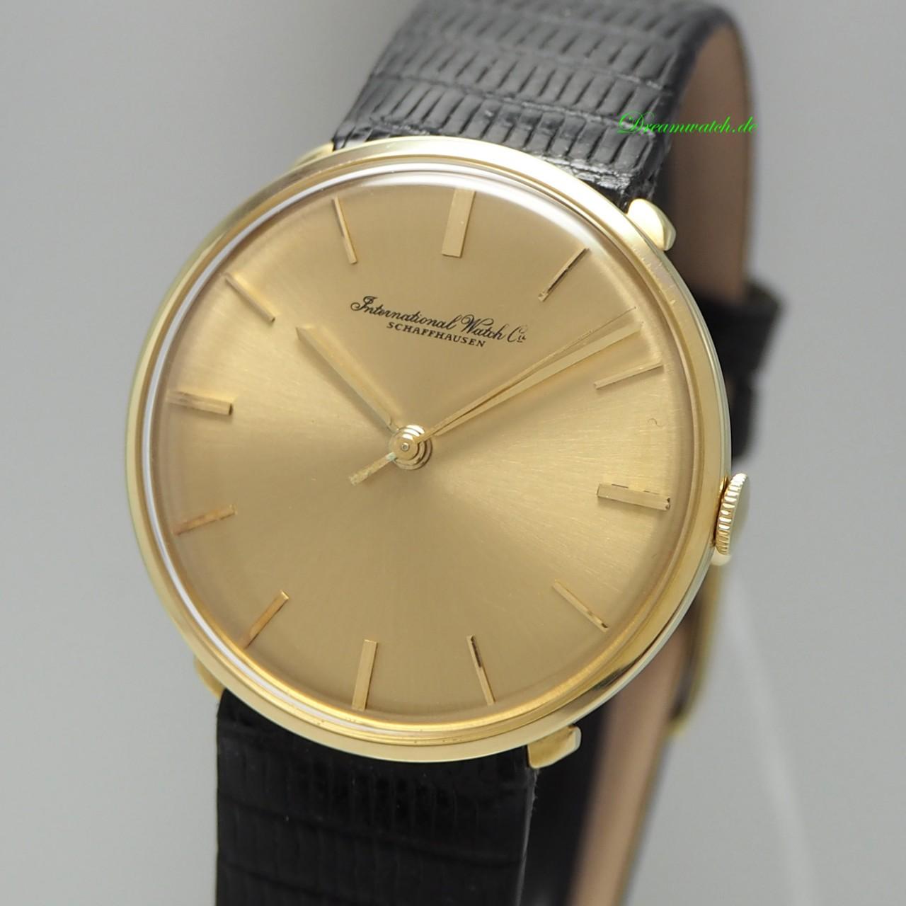 """IWC Vintage """"Turtle"""" Handaufzug Klassik Gold 18k/750"""