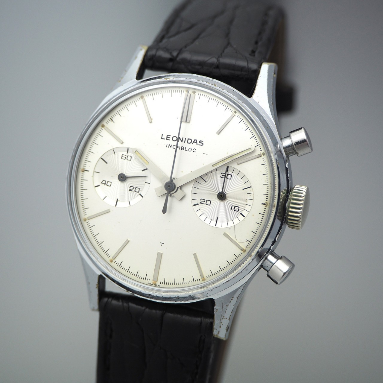 Leonidas Vintage Chronograph 2-Register, 248, 1960