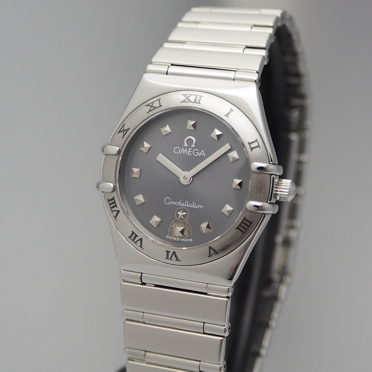 "Omega Constellation ""My Choice"" Lady, Stahl/ Stahl 795.1241"