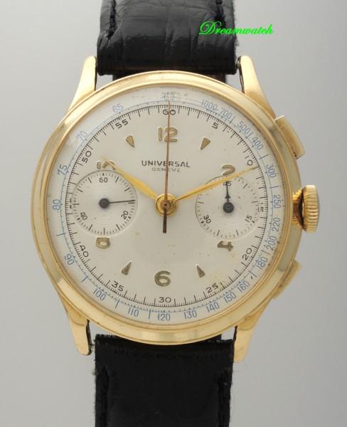 Universal Geneve Chronograph 18k Gold