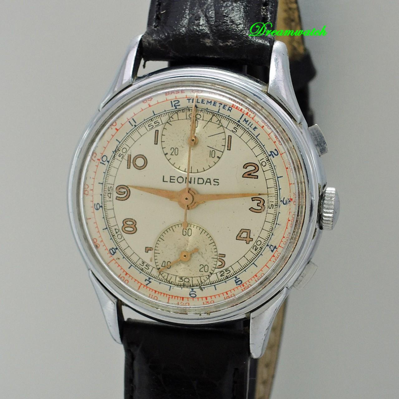 Leonidas Vintage Chronograph Valjoux 77