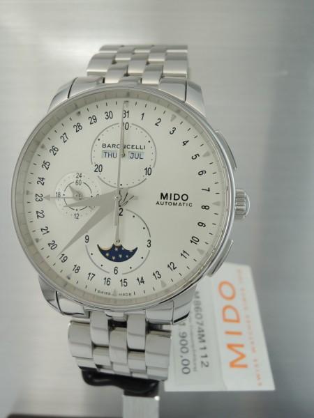 Mido Baroncelli Chronograph Mondphase , ungetragen