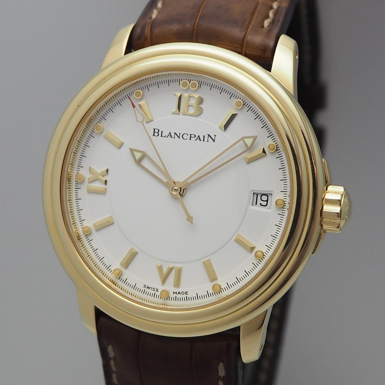 Blancpain Leman Automatic 2100, Gold 18k/750, B & P