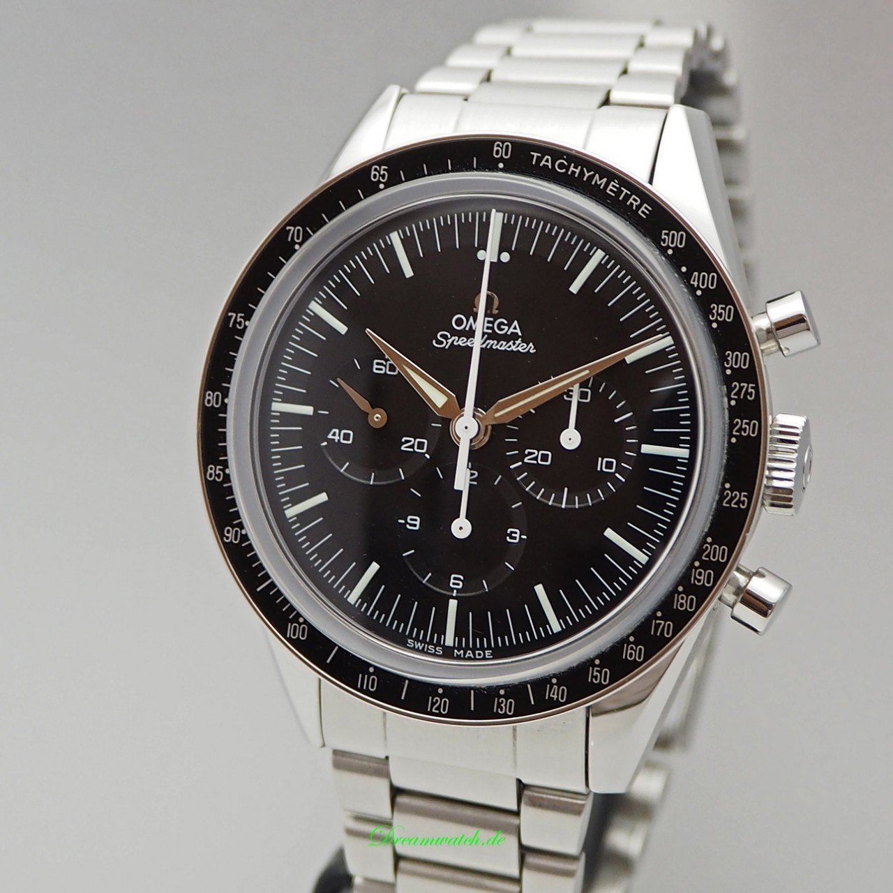 Omega Speedmaster Moonwatch Chronograph Re Edition-1962 -Stahl+Stahlband 311.32.40.30