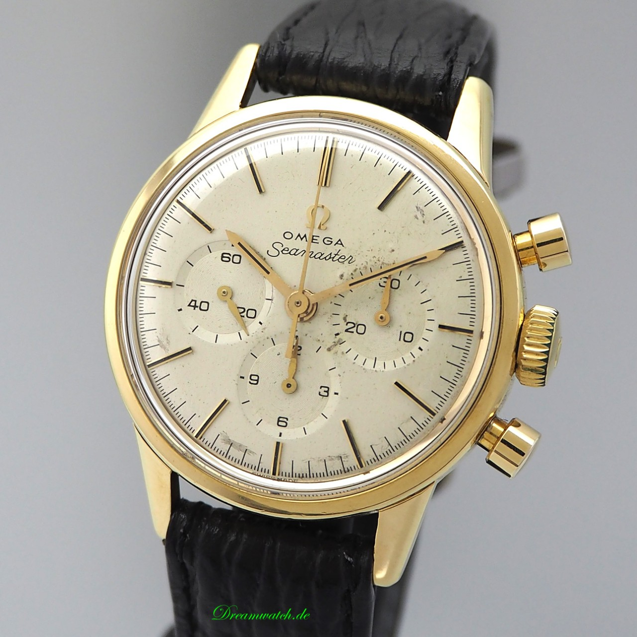 Omega Seamaster Vintage Chronograph 14904/ Cal. 321 -18k/750 Gold from 1962