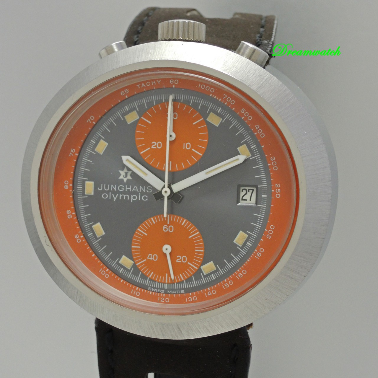Junghans Olympic Chronograph Bullhead