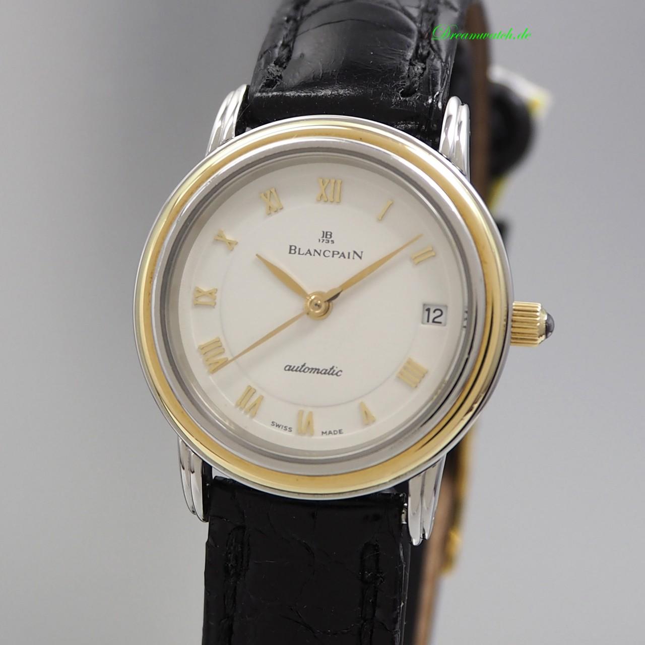 Blancpain Villeret Date Automatik Lady Stahl-Gold