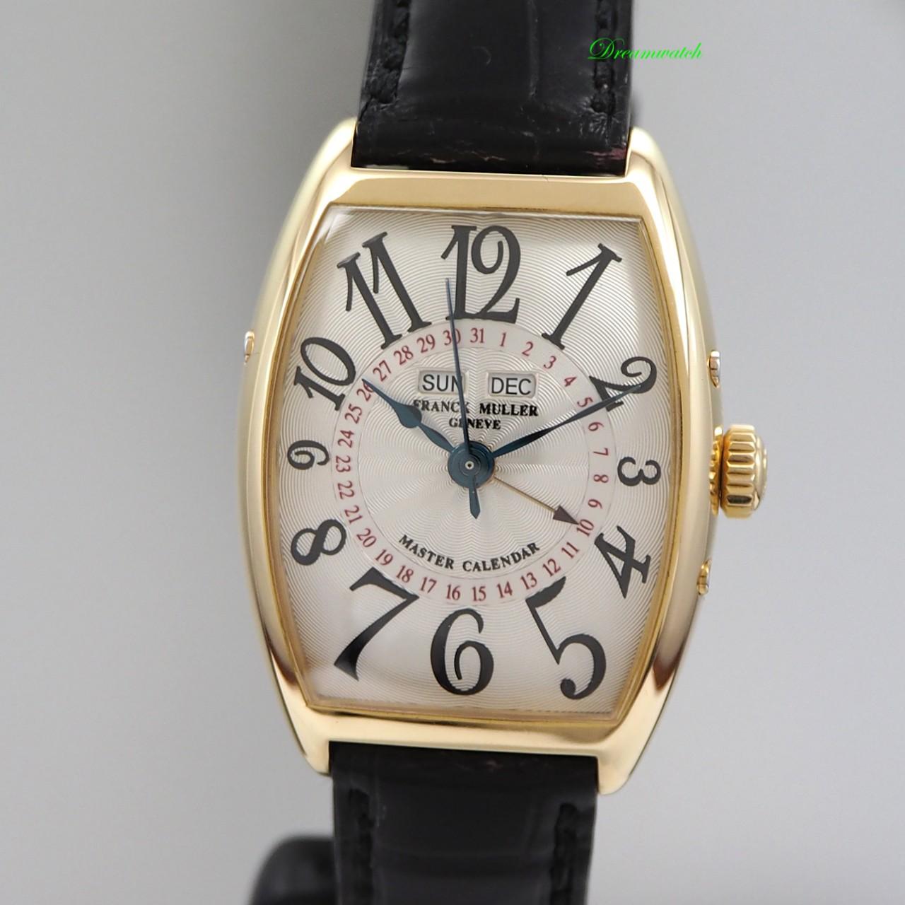 Frank Muller Master Calendar -Gold 18k/750 Leder 2852 Box+Papiere