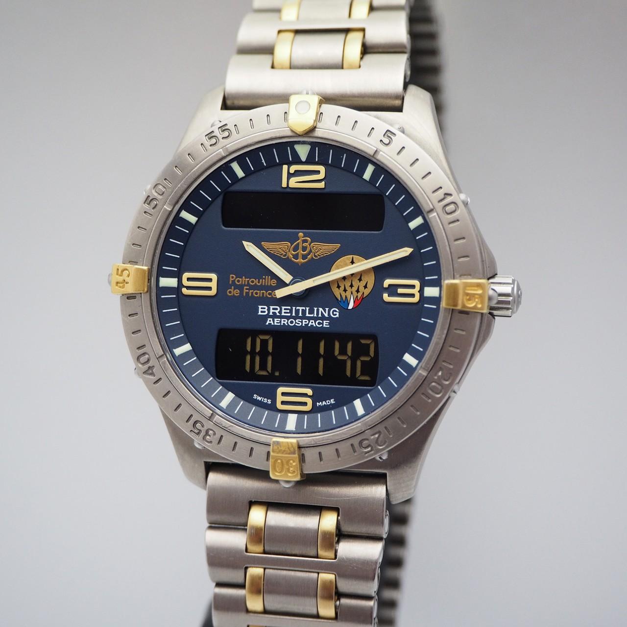 Breitling Aerospace Limited Edition F56062, Titan/ Gold, Box+Docs