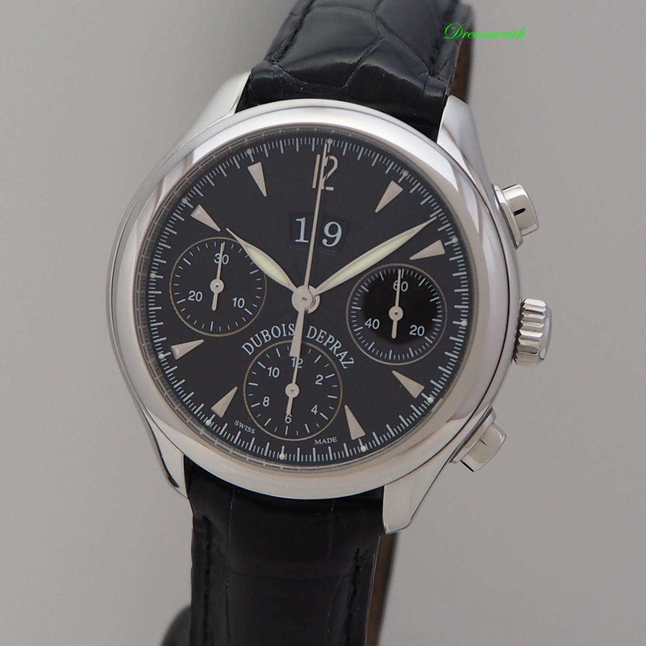 Dubois Depraz Chronograph Grande Date -Limited Edition 100 Jubiläumsuhr