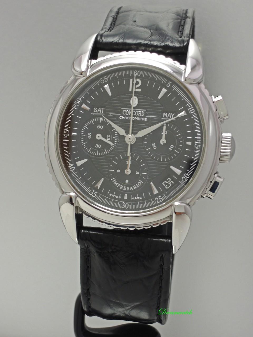 Concord Impresario Chronograph El Primero Cal.411