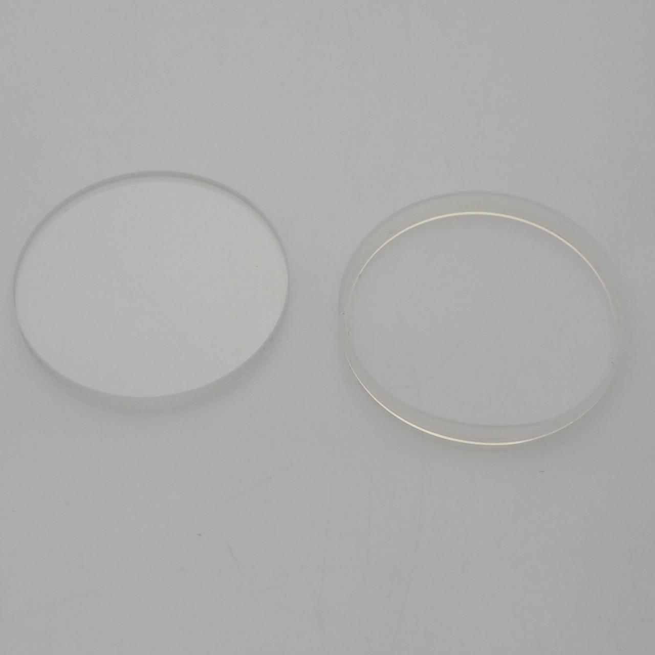 Mineralglas + Glasdichtung für Omega Flightmaster 36,0 x 3,0mm