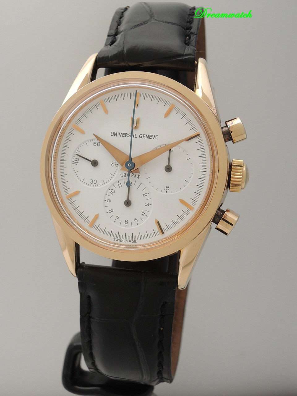 Universal Geneve Compax 1950 Chronograph -Rotgold 18k