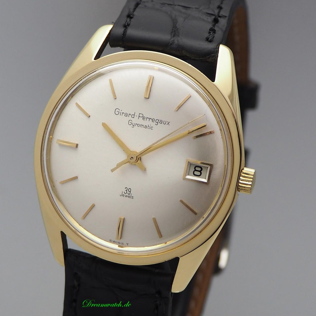Girard Perregaux Gyromatic Automatik 39 jewels, Gold 18k/750