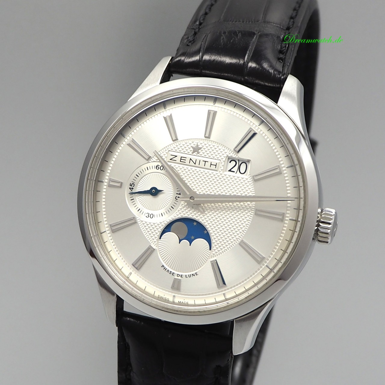 Zenith Captain Elite Moonphase Calendar 03.2140.691