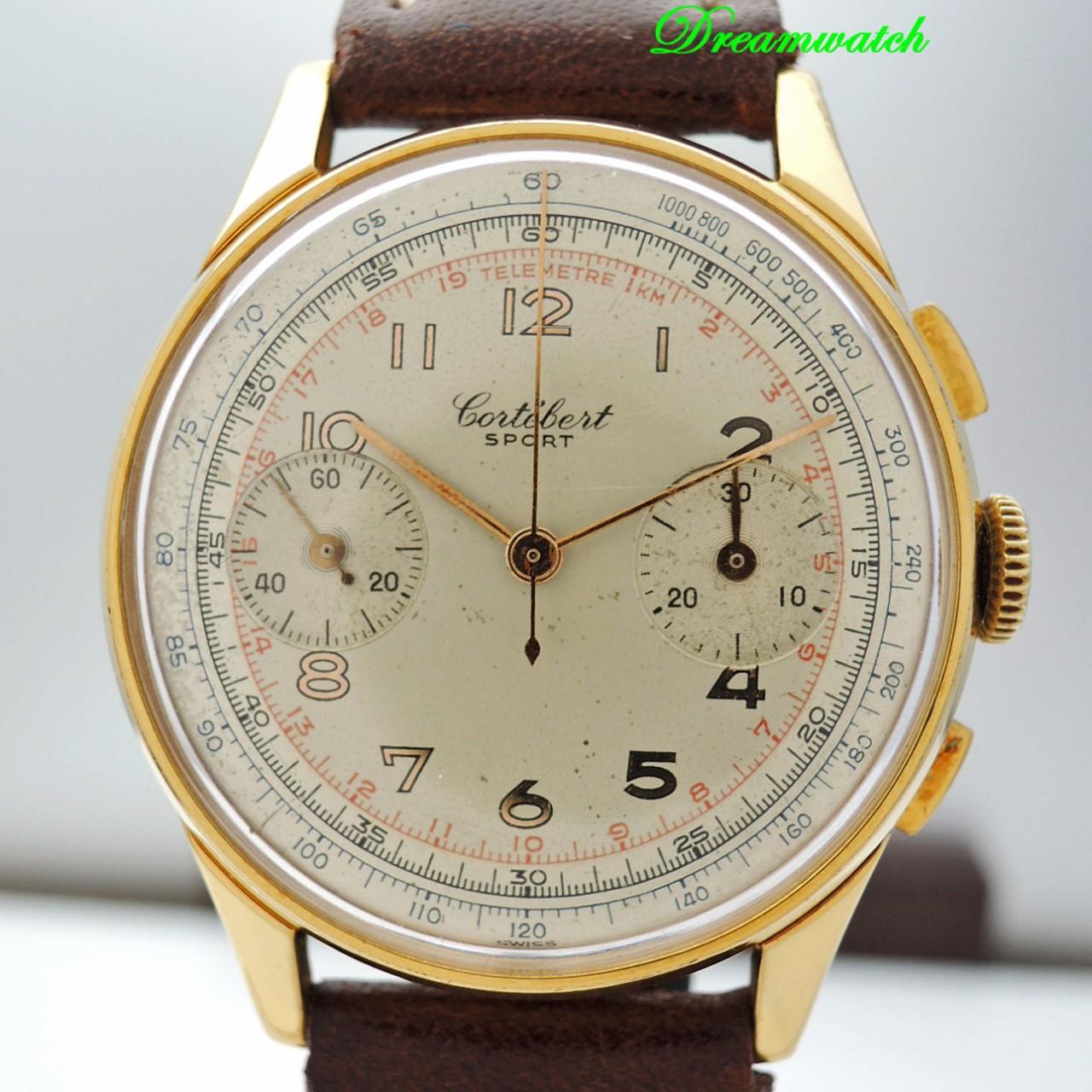 Cortebert Chronograph Venus 150 Vintage