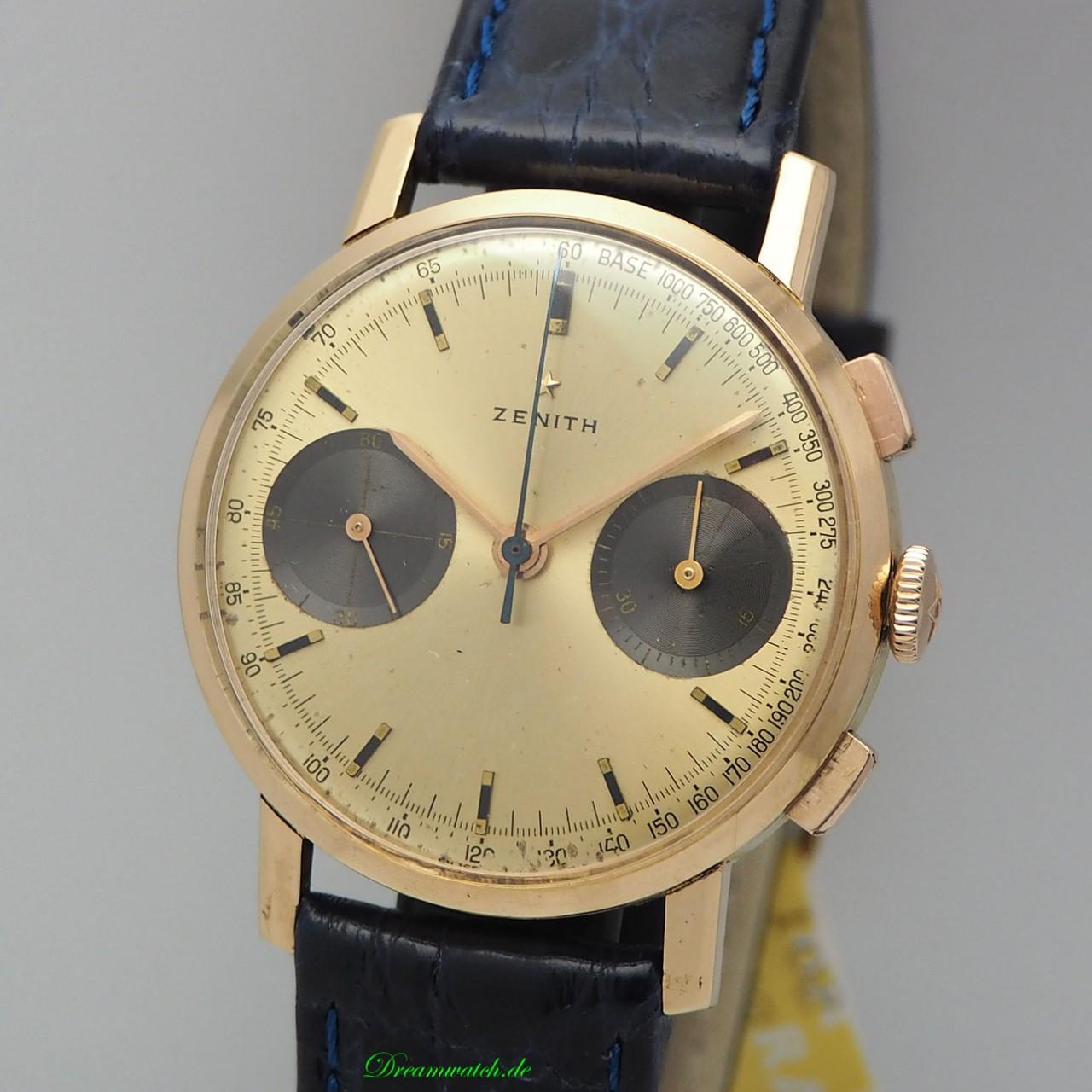 """Zenith Chronograph Vintage Cal.146 """"Panda"""" -Gold 18k/750"""